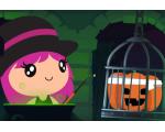Jeux Halloween pour enfants - Jette des sorts avec la Sorcière Aglagla
