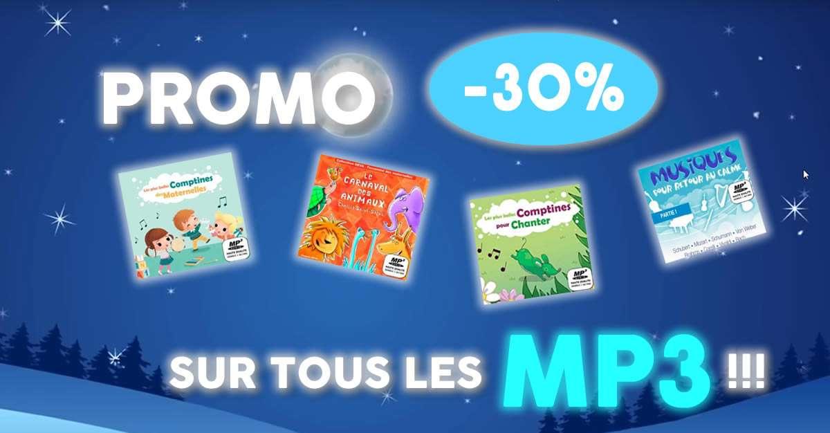 Promo 30% sur tous les MP3 du site DEVA Jeunesse !