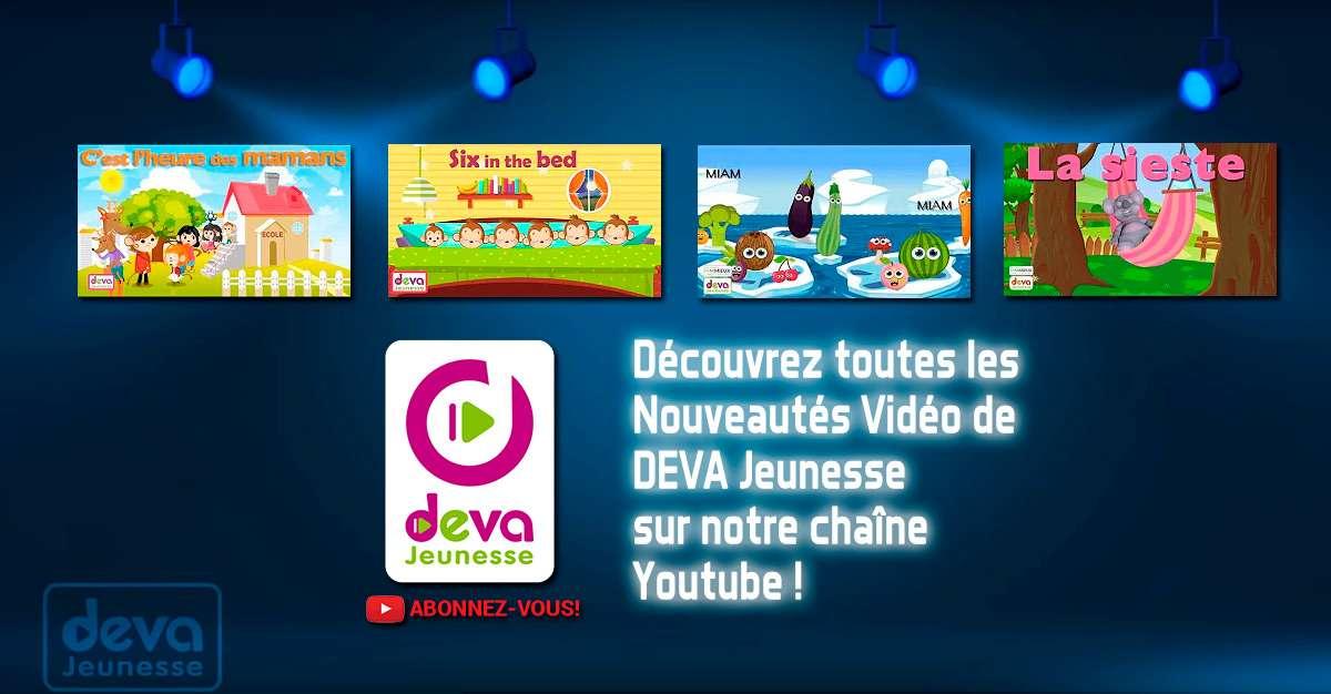 Bienvenue sur notre chaine Deva Jeunesse où vous trouverez notre catalogue complet dédié aux enfants !